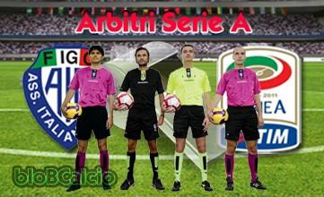 Serie A, arbitri, 18a giornata