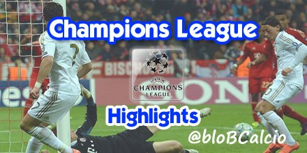 Champions League, Bayern Monaco, Real Madrid, highlights, tabellino