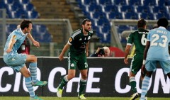 Lazio-Panathinaikos, highlights